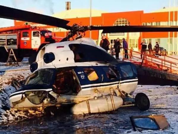Daha bir Rusiya helikopteri yerə düşdü