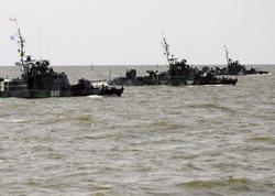Nardaran dənizdən blokadaya alındı - FOTO