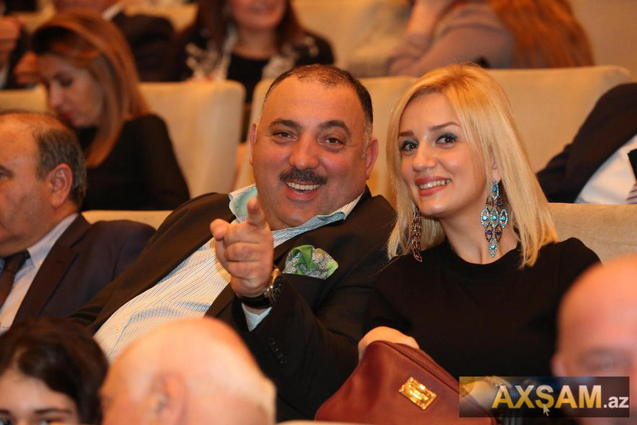 Bəhram Bağırzadə həkim xanımı ilə - FOTO