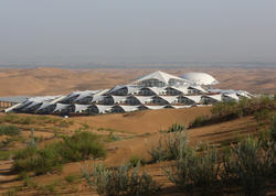 Çinlilər səhrada lüks otel tikdilər - FOTO