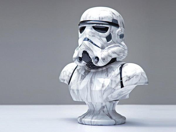 Star Wars  qəhrəmanlarının büstləri - FOTO