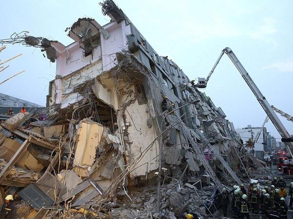 Tayvanda zəlzələ: şəhər viran qaldı, 6 ölü - VİDEO - FOTO