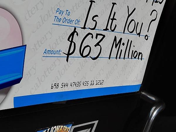 Lotereyada 63 milyon dollar qazanan şəxs axtarılır