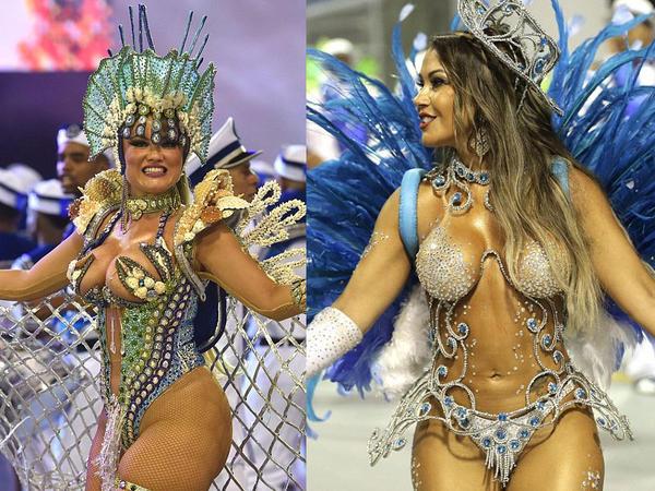 Möhtəşəm Rio karnavalı başlandı - FOTO