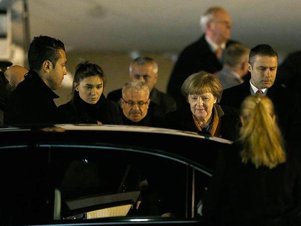Merkel Türkiyədə - YENİLƏNİB - VİDEO - FOTO