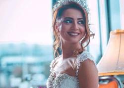 Kəmalə Piriyeva gəlinlikdə göz qamaşdırdı - FOTO