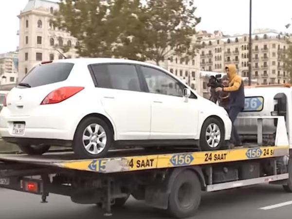Yol polisindən İTV-nin qayda pozuntusuna MÜNASİBƏT