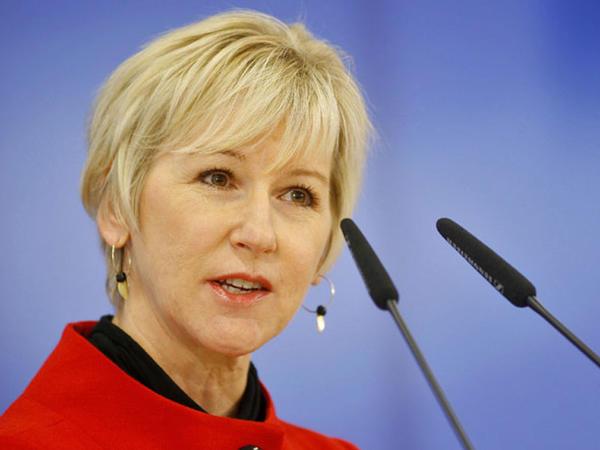 İsveç nazir İrəvanda qondarma soyqırım abidəsini ziyarət etdi