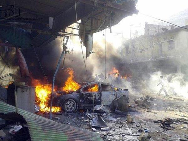 Avtomobil partladıldı: 4 ölü, 14 yaralı - YENİLƏNİB