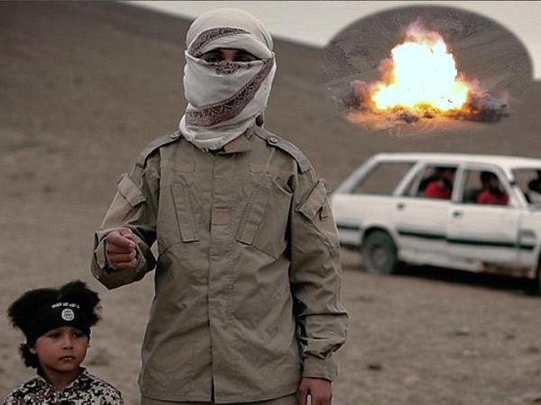 İŞİD-in 4 yaşlı cəlladı: şok görüntülər - VİDEO - FOTO
