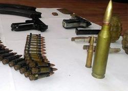 Bakıda silah-sursat tapıldı
