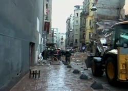 İstanbulda 2 bina çökdü - YENİLƏNİB - FOTO