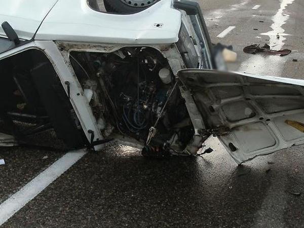 Avtomobil aşdı: 24 yaşlı oğlan öldü
