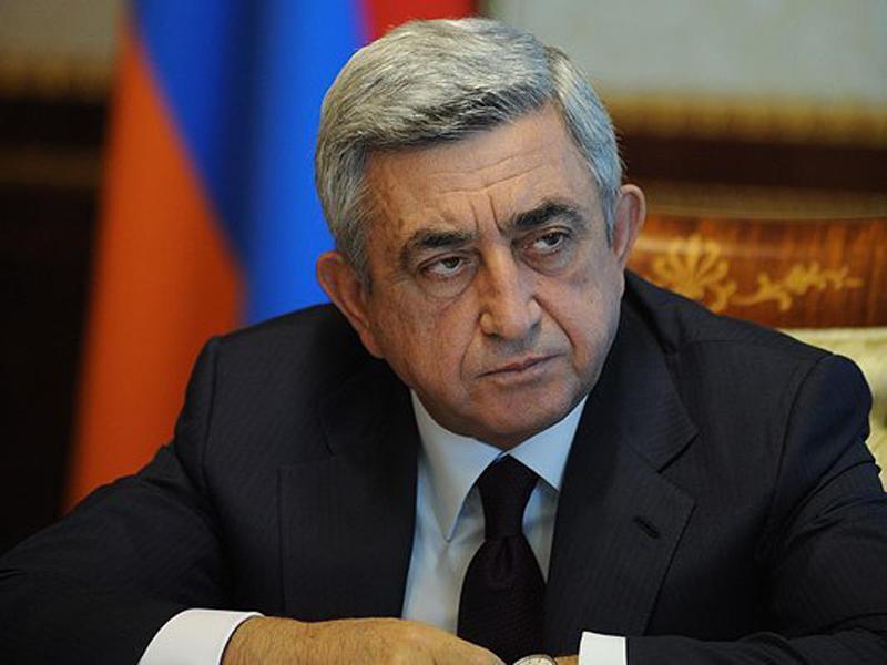 Sarkisyandan geri addım: