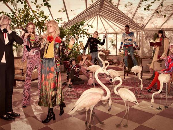 """""""Gucci""""nin yeni kolleksiyası - FOTO"""