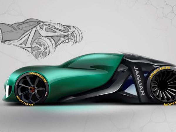 Çılpaq Jaguar - FOTO