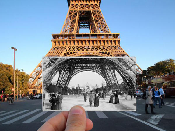 Əvvəlki və indiki Paris - FOTO