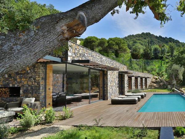İtaliyada lüks villa - FOTO