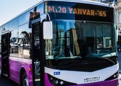 Bəzi avtobuslar xətdən uzaqlaşdırılaraq - VİDEO
