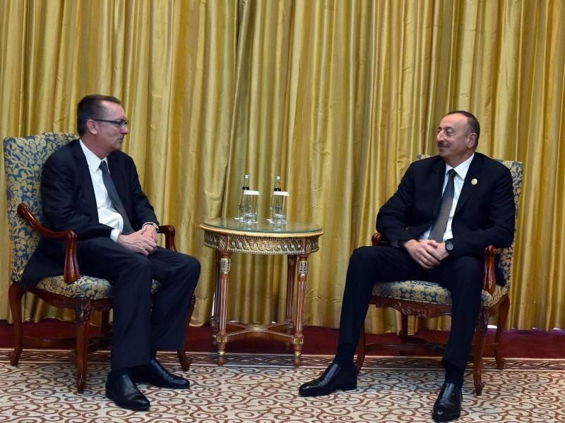 Prezident İlham Əliyev BMT Baş katibinin siyasi məsələlər üzrə müavini ilə görüşdü - YENİLƏNİB - FOTO