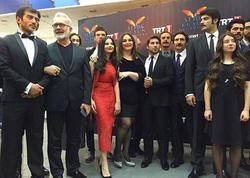 Aynişan türk filminin qala-gecəsində - FOTO