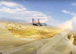 Rus qırıcıları Ermənistan səmasına qalxdı - VİDEO