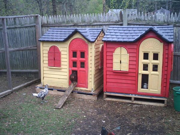 Ev quşları üçün evlər - FOTO