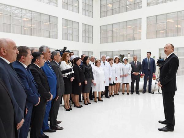"""Prezident İlham Əliyev: """"İnsanların rifah halı daha da yaxşılaşacaq, ölkəmiz neftdən asılılığını daha da aşağı səviyyəyə salacaq"""""""