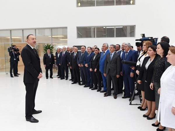"""İlham Əliyev: """"Dünya miqyasında iqtisadi artım templərinə görə Azərbaycan ön plandadır"""""""