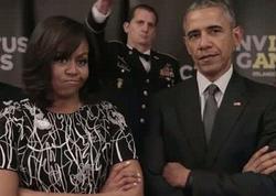 Barak və Mişel Obamalar rep dedilər, şahzadə cavab verdi - VİDEO - FOTO