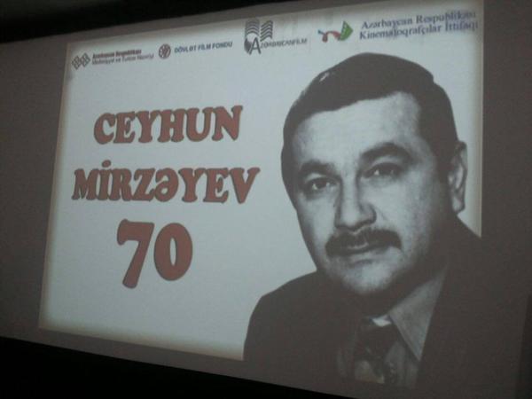 Ceyhun Mirzəyevin 70 illiyi münasibətilə tədbir keçirilib - FOTO