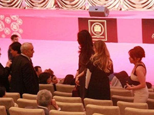 Tahir İmanovun xanımı konsertdə - FOTO