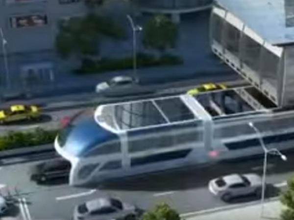 Gələcəyin fantastik avtobusu belə olacaq - VİDEO