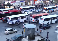Bakıda avtobusların ayrıca yolu olacaq - VİDEO