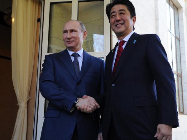 Sindzo Abe Putinə yeni yanaşma təklif edib