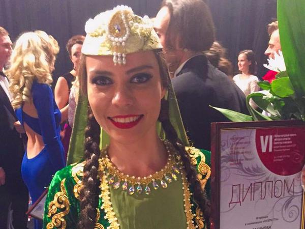 Musiqili Teatrın aktrisası Beynəlxalq müsabiqədə üçüncü oldu