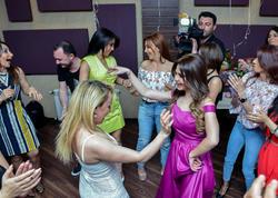Azərbaycanlı aparıcının ad günündən - FOTOlar