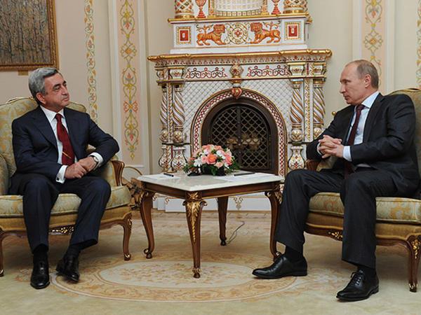 Putin və Sarkisyan bu gün görüşə bilərlər