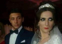 Müəllimi ilə evlənən 18 yaşlı oğlanın toyundan FOTOlar
