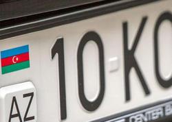Azərbaycanda 90 000 manata avtomobil nömrəsi satılır - FOTO