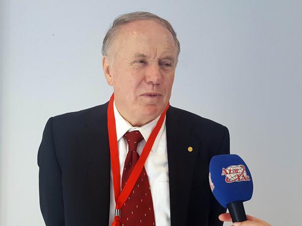Nobel mükafatçısı Azərbaycandan danışdı