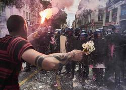 """Fransa çalxalanır: ölkə """"qıc"""" olub - FOTO"""