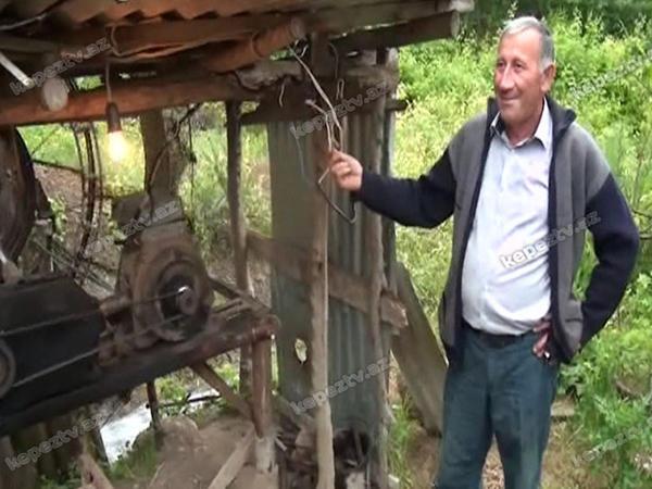 Bu kişi illərdir işlətdiyi elektrik enerjisinə pul ödəmir - FOTO