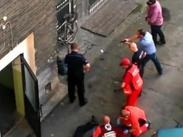 Polisin bu davranışı izləmə rekordu qırdı - VİDEO