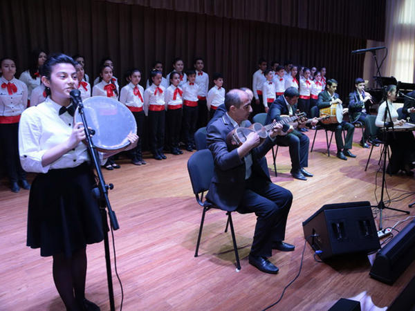 Respublika Gününə həsr olunan konsertdən - FOTOlar