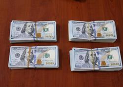 Azərbaycandan dollar daşıyan qaçaqmalçı saxlanılıb