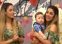 Azərbaycanlı müğənninin yeni doğulan oğlu - FOTO