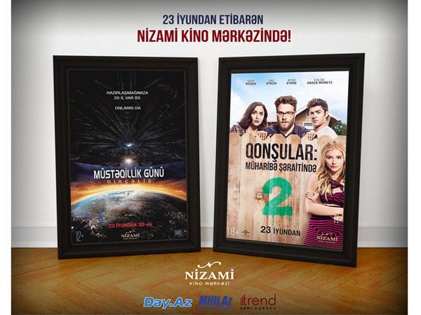 Nizami Kino Mərkəzinin ekranında yeni amerika filmləri