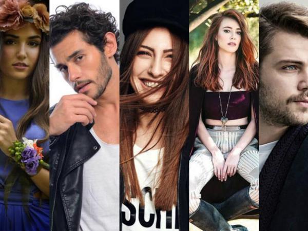 Türk seriallarında yeni parlayan ulduzlar - SİYAHI - FOTO