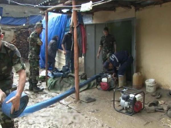 Qusarda 22 ev su altında qaldı - YENİLƏNİB - VİDEO - FOTO